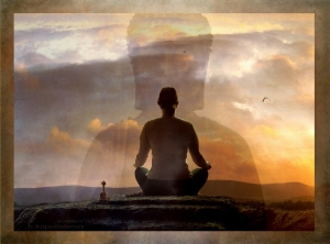 meditujuci clovek